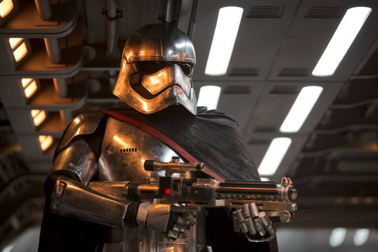 I liked Phasma, in fact I liked hearing female voices coming from a few of the Stormtroopers. I really hope she didn't die on Starkiller base and do a total Boba Fett on us.