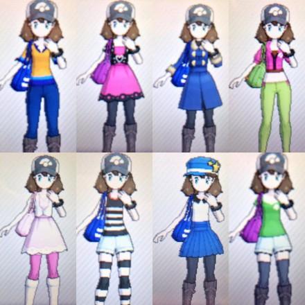 pokemon_x_main_outifts_by_glaceonthehuman-d6sewda