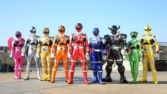 Type Super Sentai into google and you get a million images like this