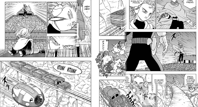 Dragon Ball Super Manga: Chapter 43 - Joining the Galactic Patrol - Space Cops and Warlocks