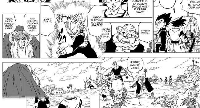 "Dragon Ball Super Manga - Chapter 44: ""Escaped Prisoner Moro"" – The Return to Namek"