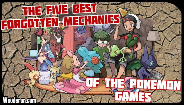 The Five Best Forgotten Mechanics of the Pokemon Games