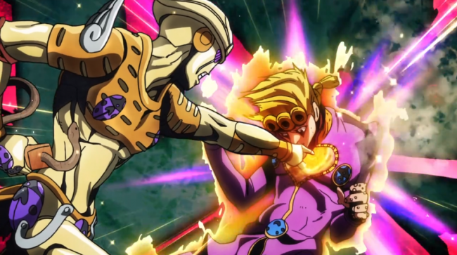 Jojo Golden Wind: Episode 13: Mirror Man and Purple Smoke Review
