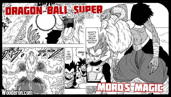 "Dragon Ball Super Manga – Chapter 45: ""Moro's Magic"" – Snack 'OPlanet"