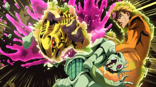 JoJo's Bizarre Adventure: Golden Wind Episode 17 Review – Babyhead - A Pound of Flesh
