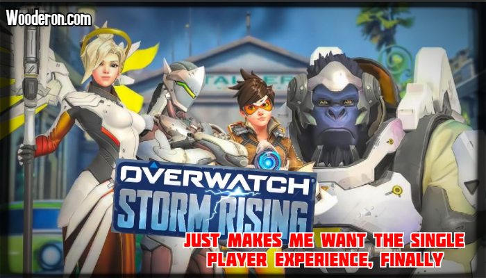 Overwatch Storm Rising just makes me want the single player experience,finally.