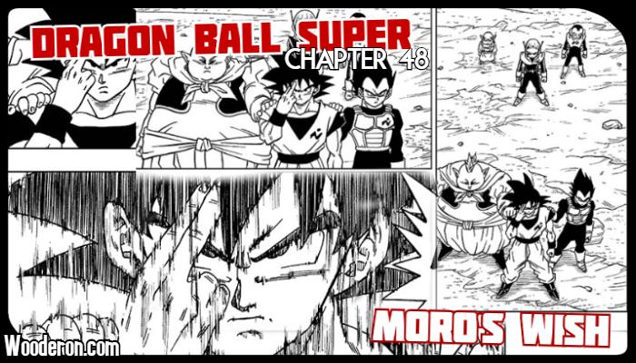 Dragon Ball Super Manga: Chapter 48: Moro'sWish