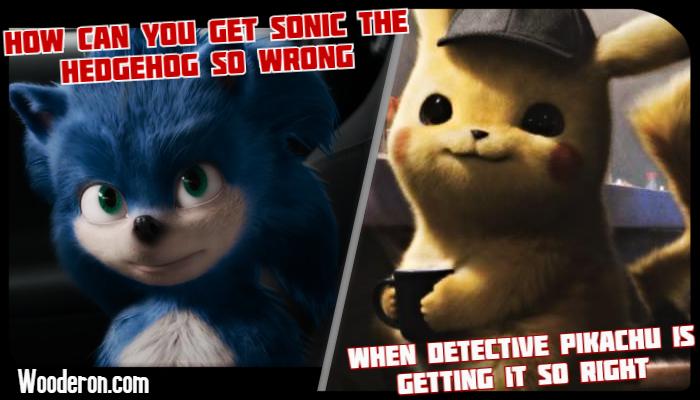 How can you get Sonic the Hedgehog so wrong when Detective Pikachu is getting it soright