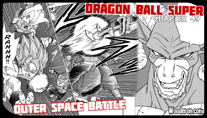 Dragon Ball Super Manga – Chapter 49: Outer Space Battle