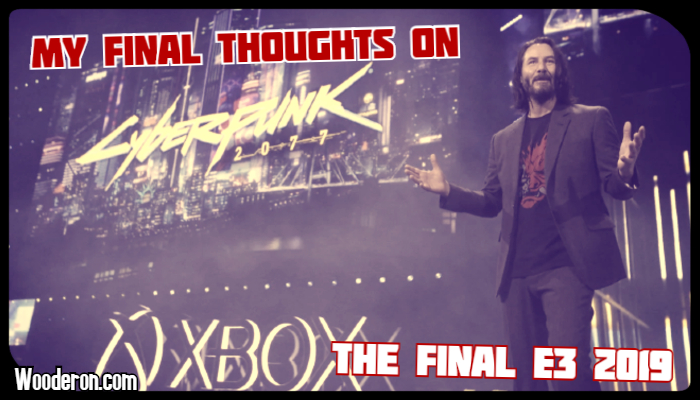 My Final Thoughts on the Final E32019