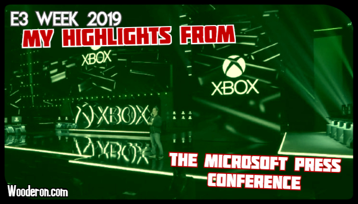 E3 Week 2019: My Highlights from the Microsoft Press Conference