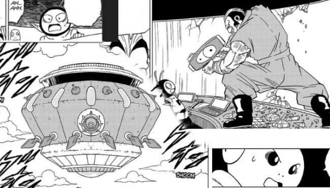 Dragon Ball Super Manga - Chapter 50: Great Escape