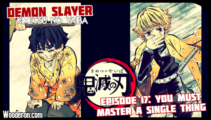 Demon Slayer : Episode 17 – You Must Master a Single Thing