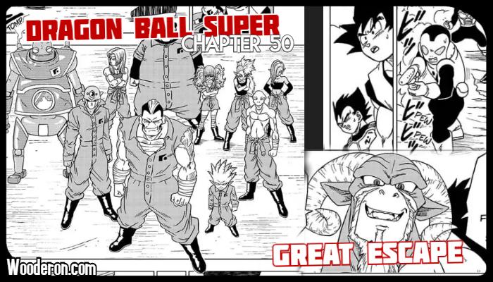 Dragon Ball Super Manga Chapter 50 Great Escape A Richard Wood