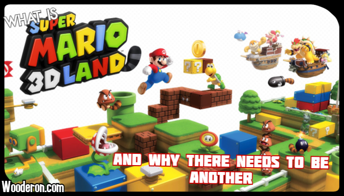 What is Super Mario 3D World, and why there needs to be another