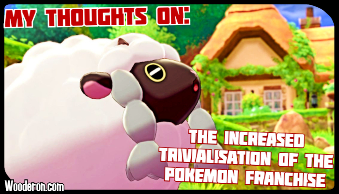My thoughts on the increased trivialisation of the Pokemon franchise