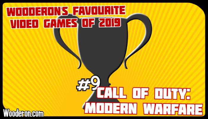 Wooderon's favourite Video Games of 2019 – #9