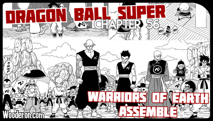 Dragon Ball Super Manga – Chapter 56: Warriors of Earth Assemble
