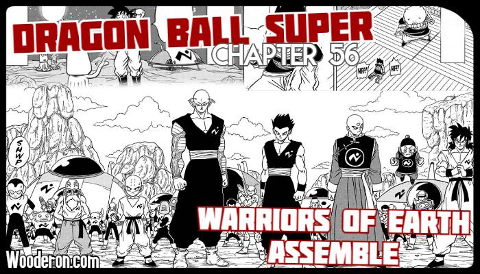 Dragon Ball Super Manga – Chapter 56: Warriors of EarthAssemble