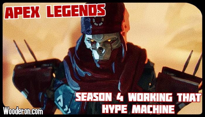 Apex Legends' Season 4 working that hypemachine