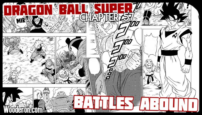 Dragon Ball Super Manga chapter 57: BattlesAbound