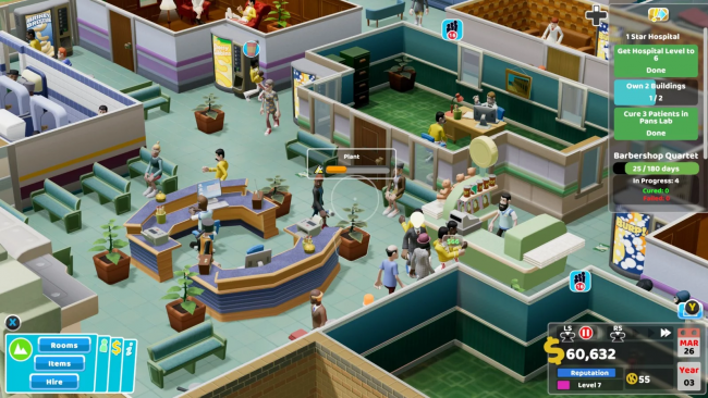 Two Point Hospital - The game that ends up playing itself