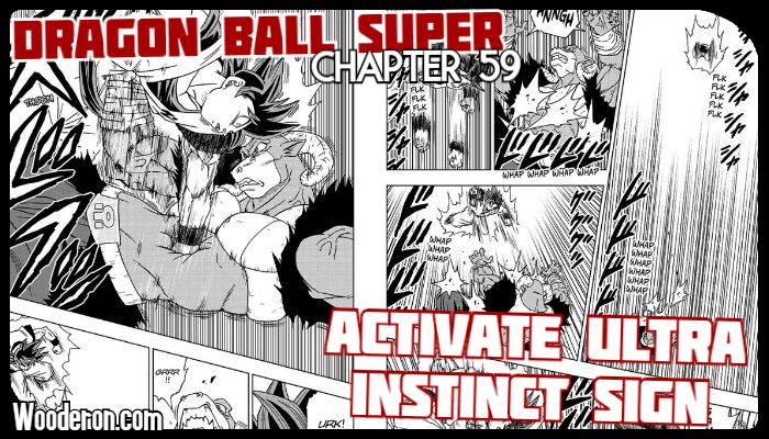 Dragon Ball Super Manga – Chapter 59: Activate Ultra InstinctSign