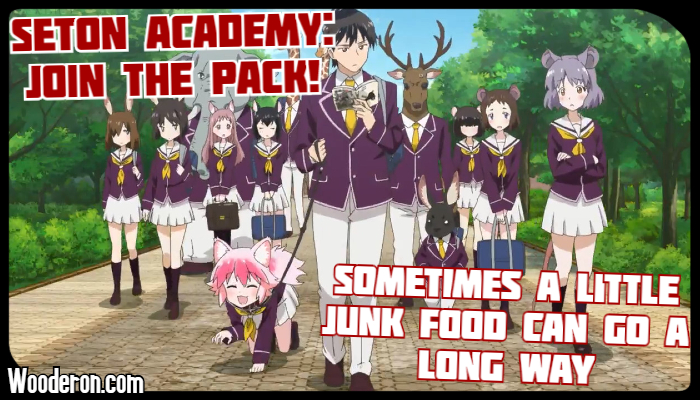 Seton Academy: Join the Pack! – Sometimes a little junk food can go a long way