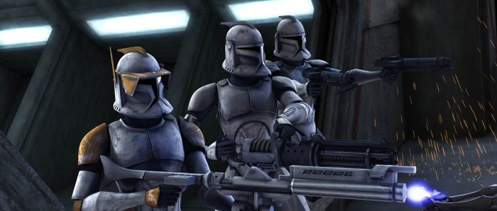 Star Wars: The Clone Wars Revisited - Part 4: Shiny White & Gold