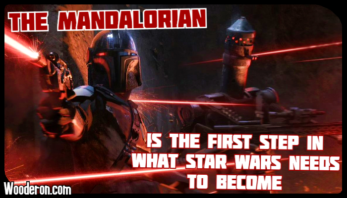 The Mandalorian is the first step in what Star Wars needs to become