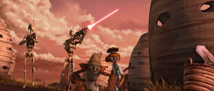Star Wars: The Clone Wars Revisited - Part 7:  Big Nuts, Fire Bombs & Icy First Contact