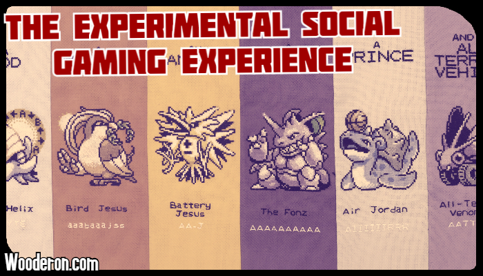 The Experimental Social GamingExperience