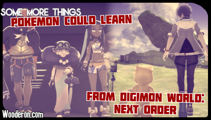 Some more things Pokemon could learn from Digimon World: NextOrder
