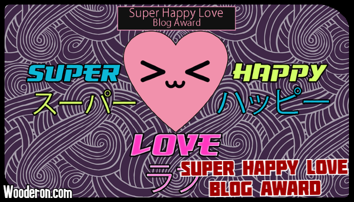 The Super Happy Love Blog Award