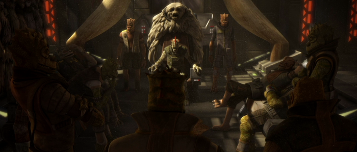 Star Wars: The Clone Wars Revisited - Part 24: Walking carpets and oversized handbags