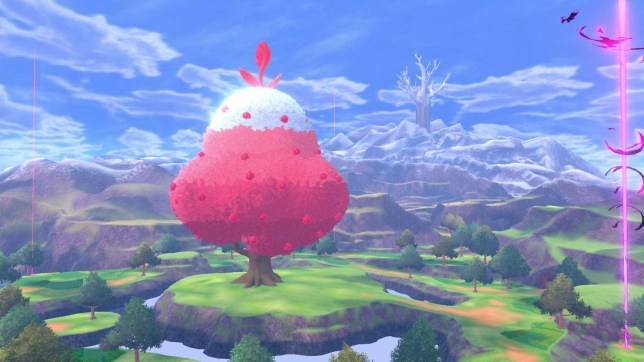 My Thoughts on Pokemon: Crown Tundra's barren wasteland