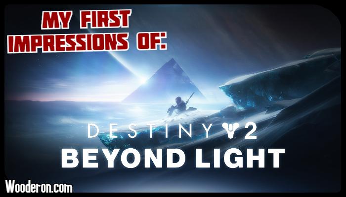 My First Impressions of – Destiny: BeyondLight