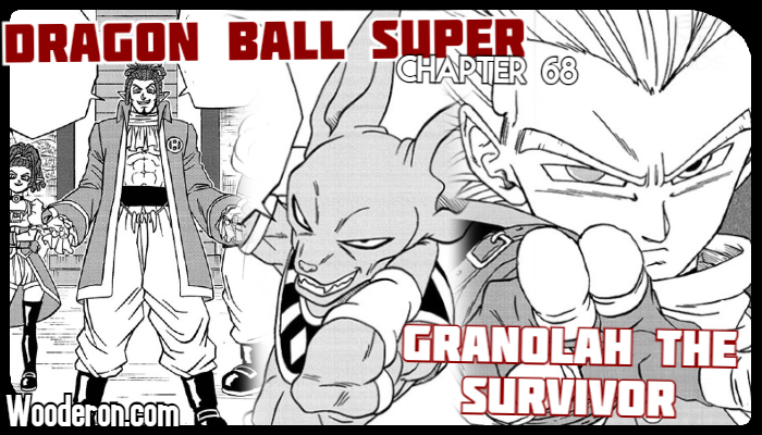 Dragon Ball Super Manga Chapter 68: Granolah the Survivor