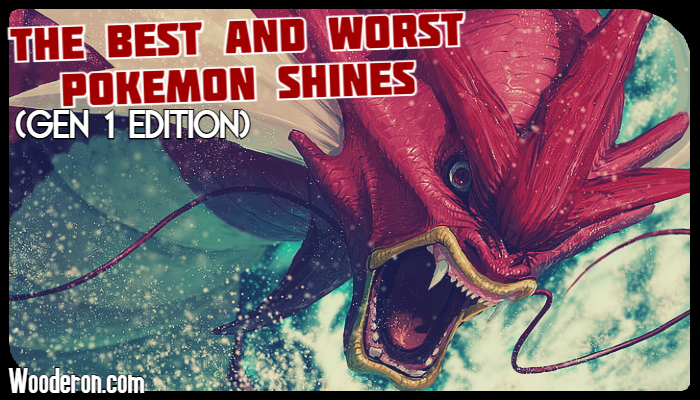 The Best and Worst Pokémon Shines (Gen 1 Edition)