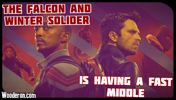The Falcon and The Winter Solider is having a fastmiddle