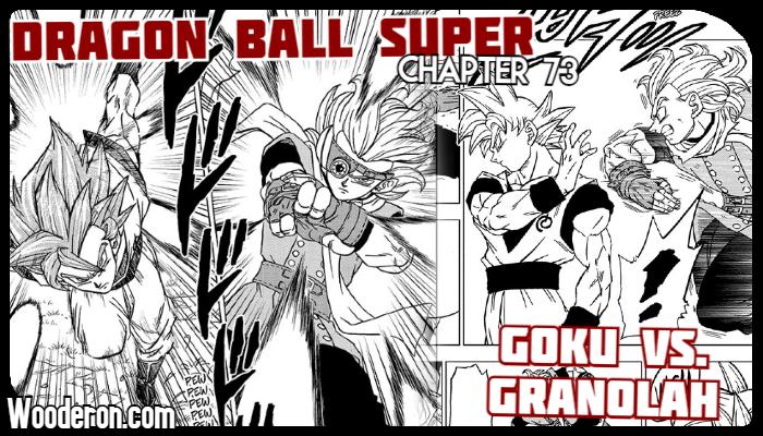 Dragon Ball Super Manga – Chapter 73: Goku vs.Granolah