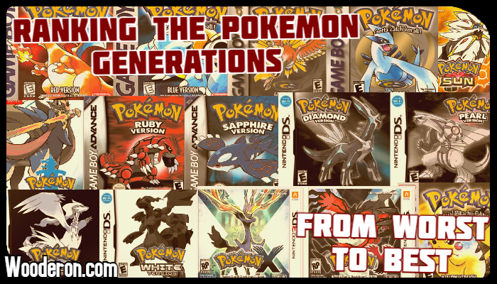 Ranking the Pokémon Generations from worst tobest