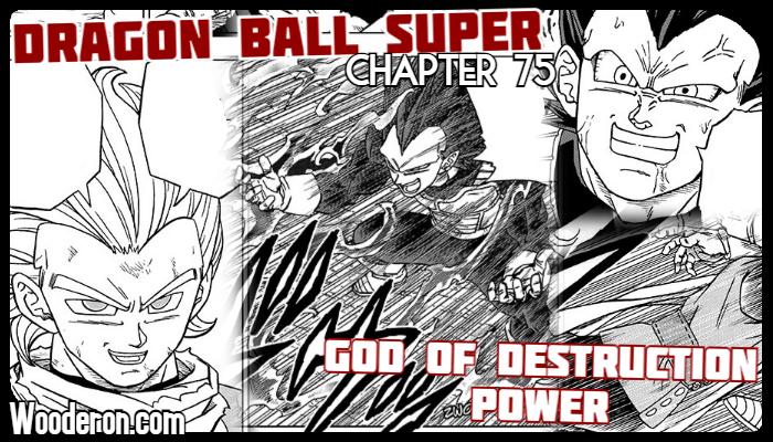 Dragon Ball Super Manga – Chapter 75: God of DestructionPower