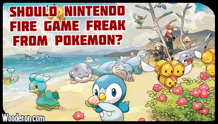 Should Nintendo Fire Game Freak fromPokémon?
